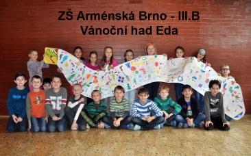 Foto - ZS Armenska - Vanocni had Eda